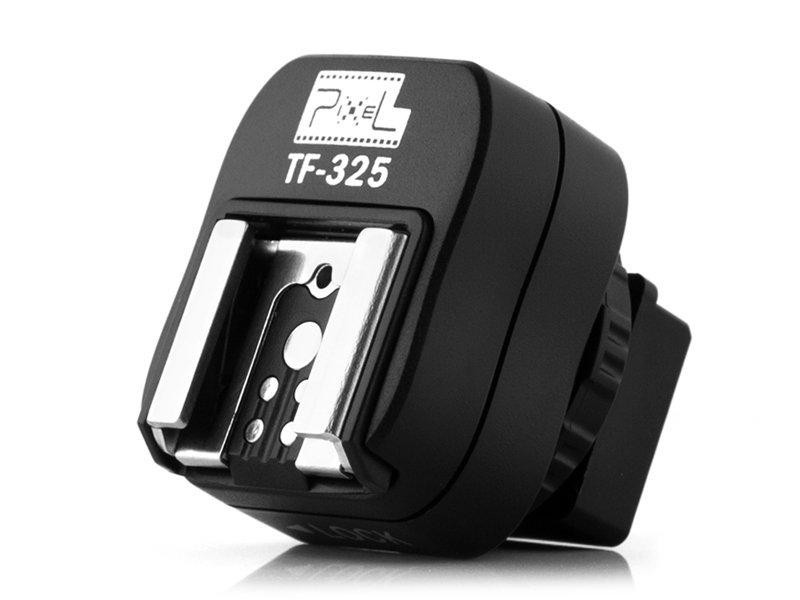 PIXEL TF-325 adaptér patice blesku Canon/Nikon na tělo Sony A (starší patice)
