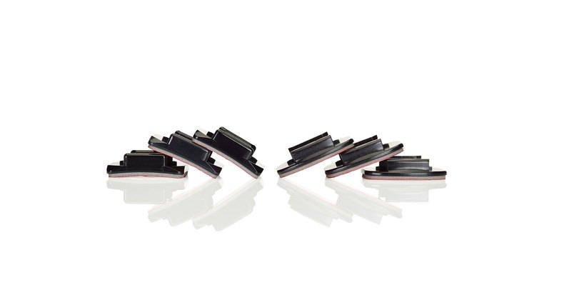 GOPRO Curved + Flat Adhesive Mounts - zakřivené + ploché samolepící držáky