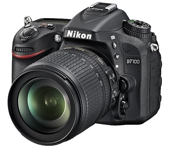 NIKON D7100 + 18-105 mm VR + SDHC16GB + NIKON 8x42 PROS + získejte zpět 1350 Kč