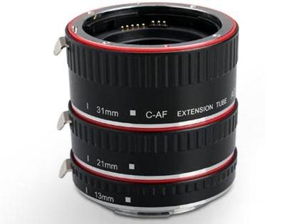 APUTURE mezikroužky set 13/21/31 mm pro Canon EOS