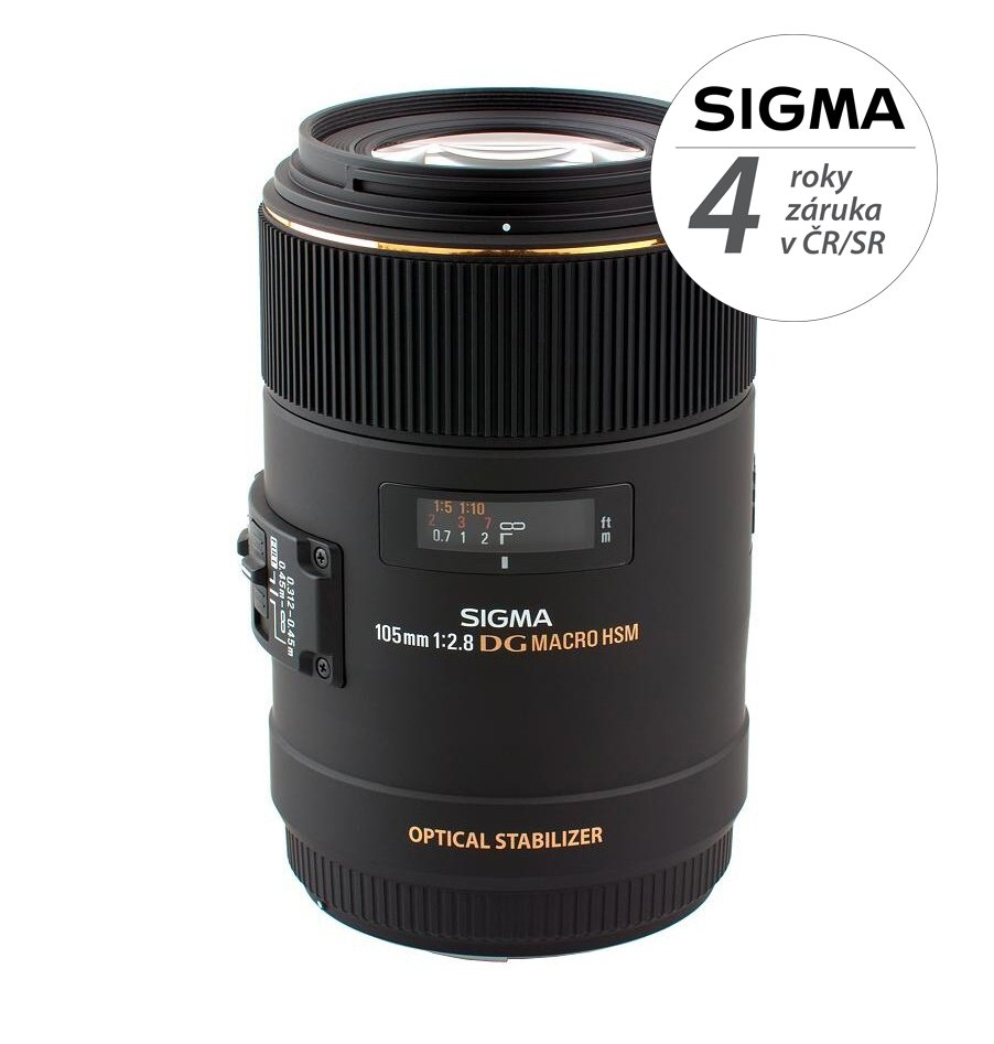 SIGMA 105 mm f/2,8 EX DG OS HSM Macro pro Sony A
