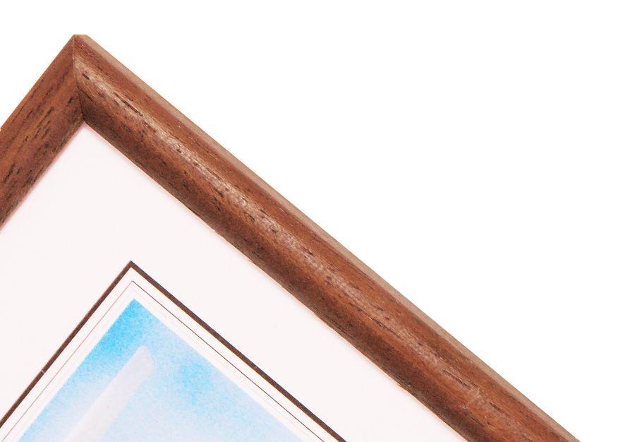 HAMA OREGON rám 21x30 dřevo, hnědý