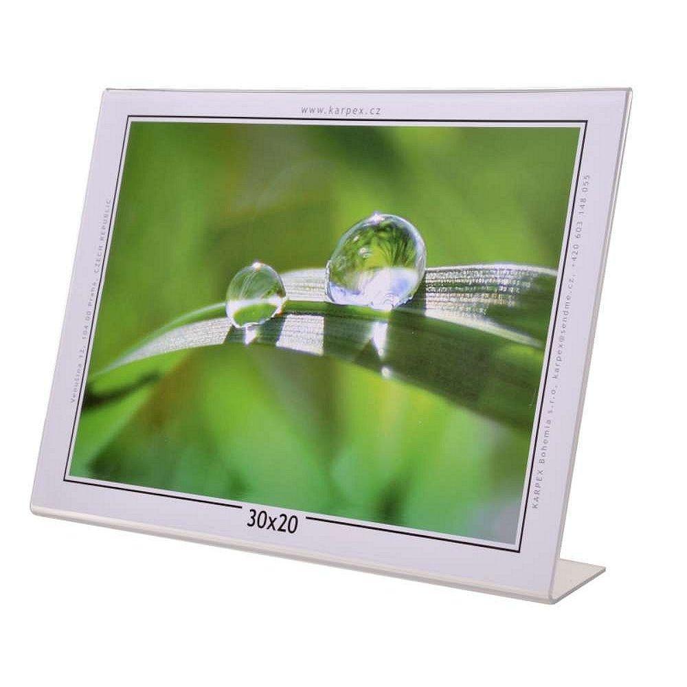 KARPEX akrylový rám 20x15, šířka