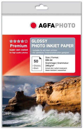 AGFA inkjet 240g Glossy Premium A4/50