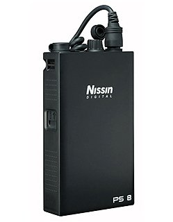 NISSIN PowerPack PS8 pro 2 blesky Nissin Di866/MG8000, Nikon SB-900/910/5000