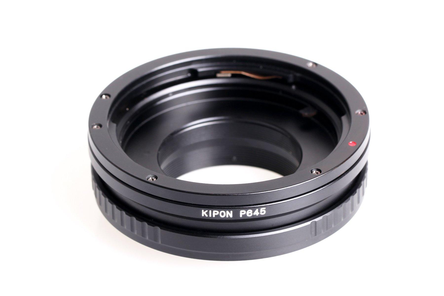KIPON adaptér objektivu Pentax 645 na tělo Nikon