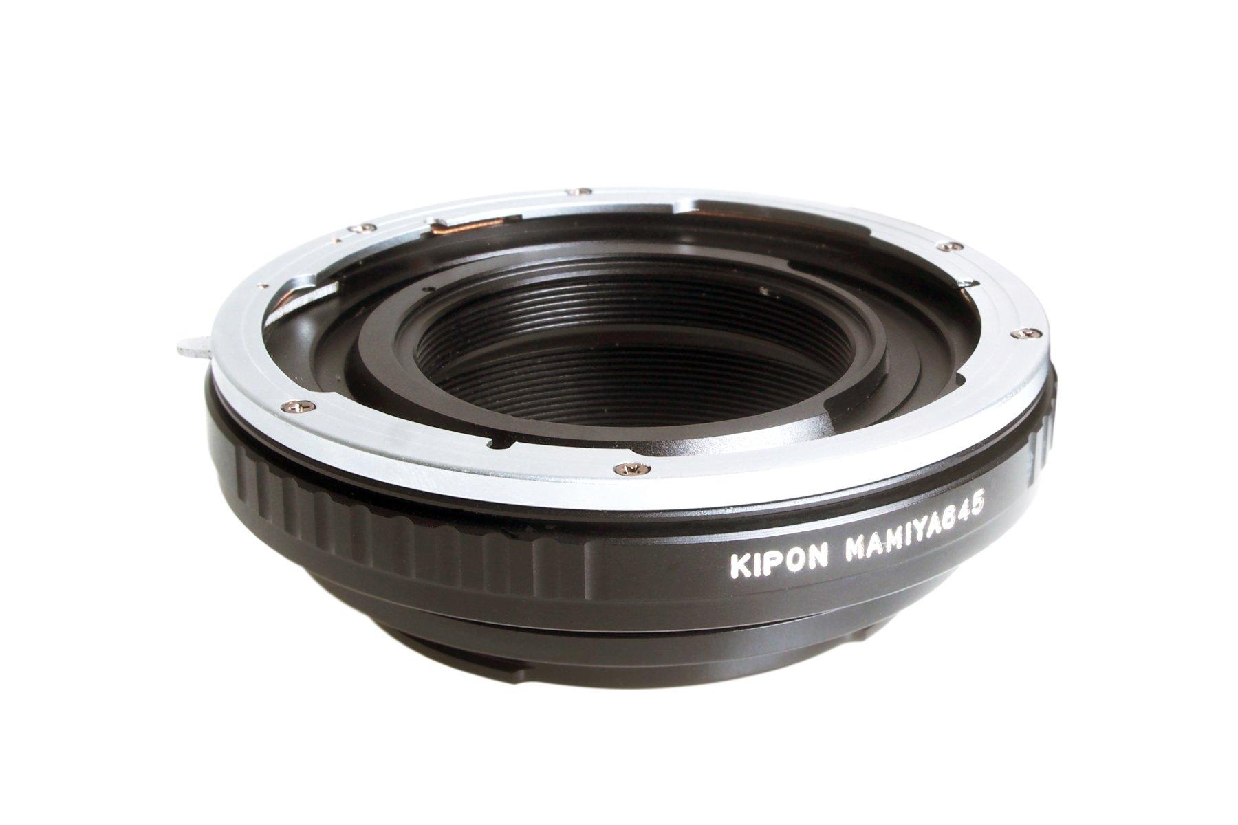 KIPON adaptér objektivu Mamiya 645 na tělo Pentax