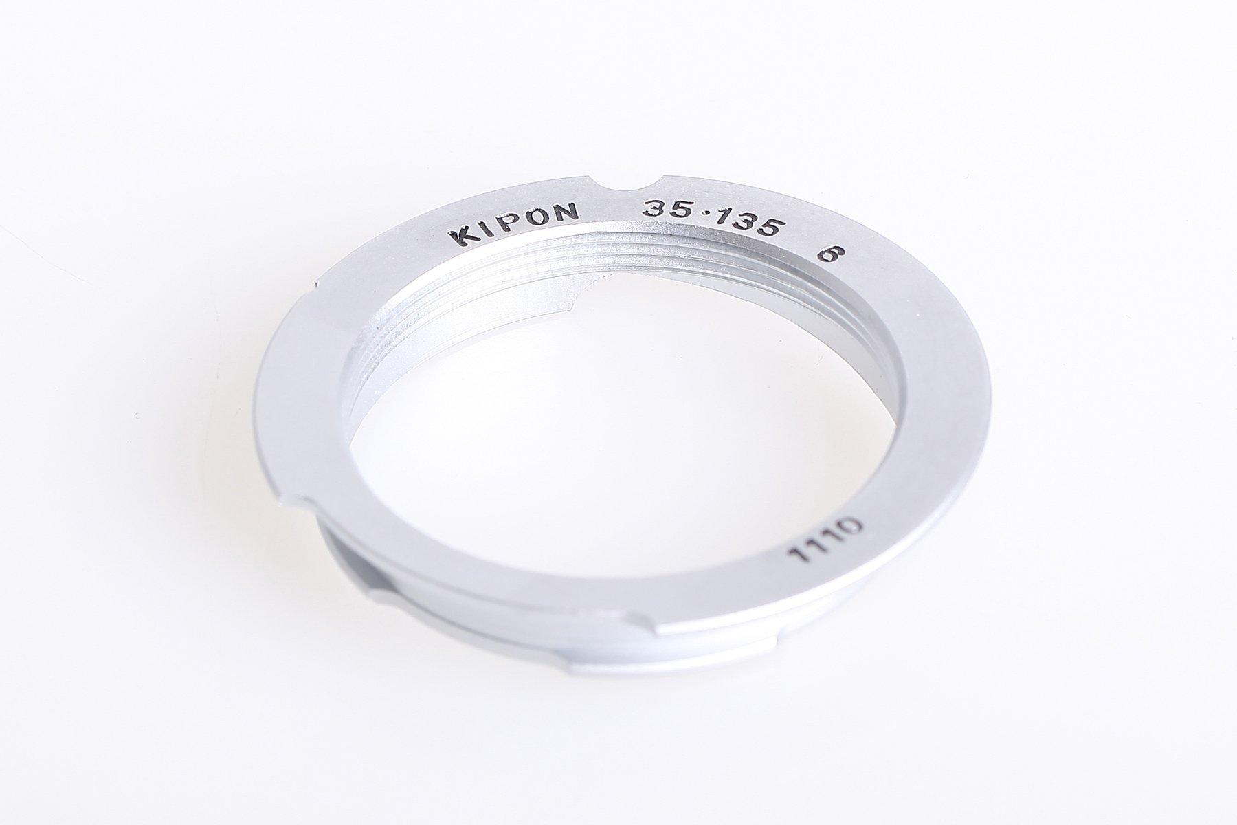 KIPON adaptér objektivu M39 na tělo Leica M pro ohnisko 35/135 mm - 6 bit