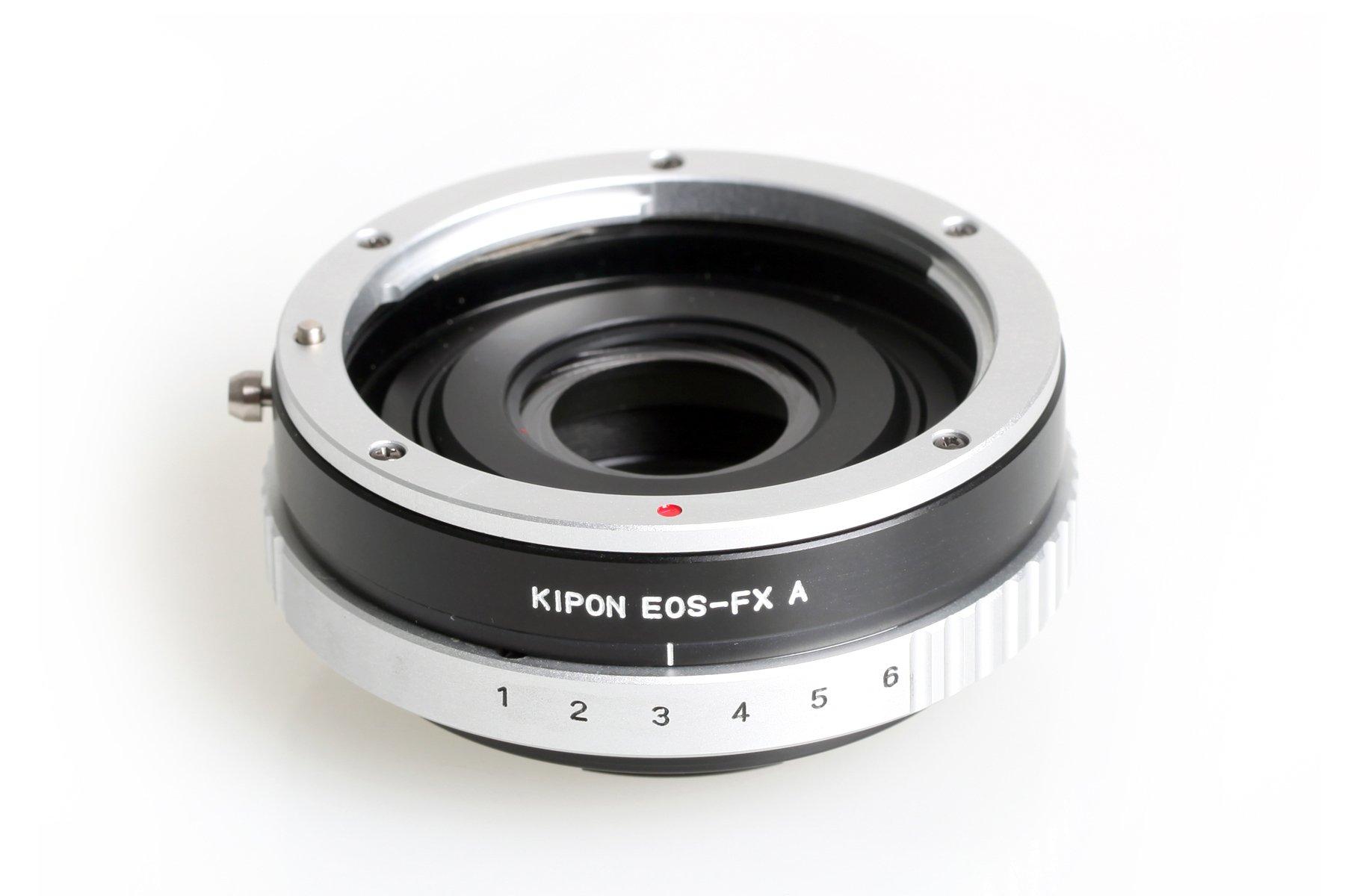 B.I.G. adaptér objektivu Canon EOS na tělo Fujifilm X