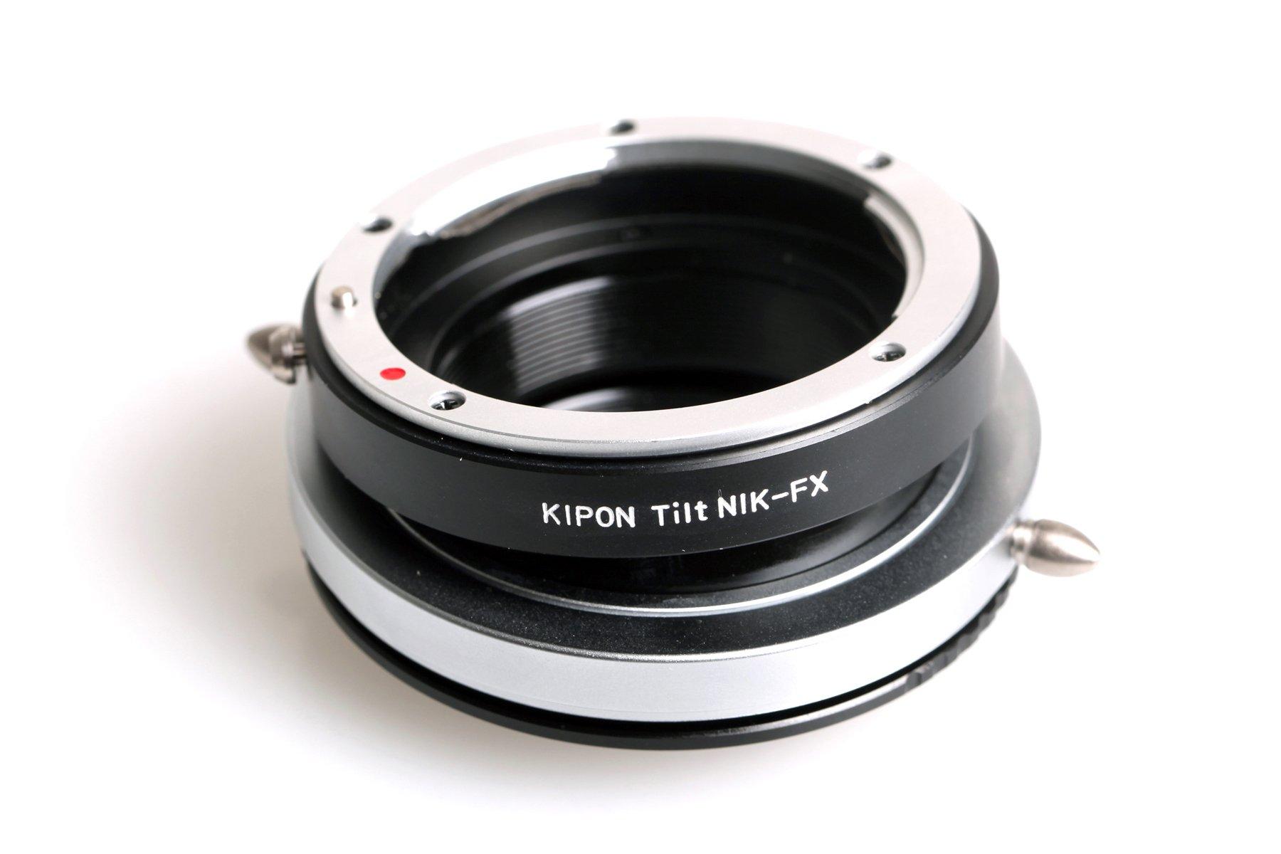 B.I.G. tilt adaptér objektivu Nikon D na tělo Fujifilm X