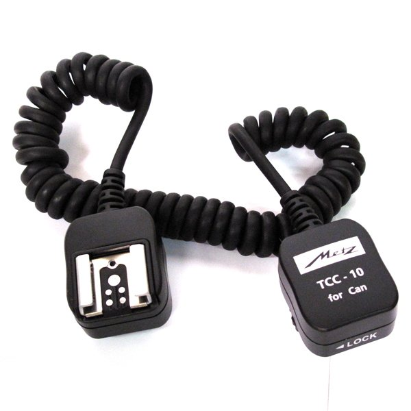 METZ propojovací kabel k blesku TCC-10 TTL pro Canon