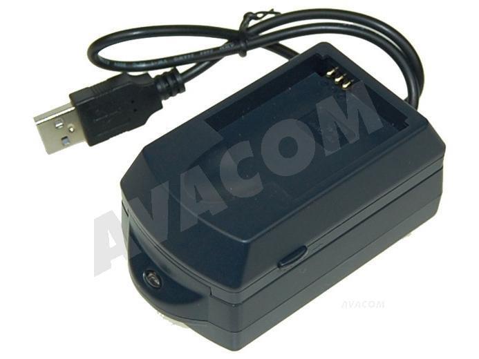 AVACOM AV-EPU nabíječka USB pro Canon NB-4L