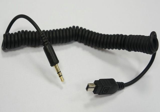 PIXEL/PHOTTIX kabel pro Nikon DC2 jack 3,5 mm