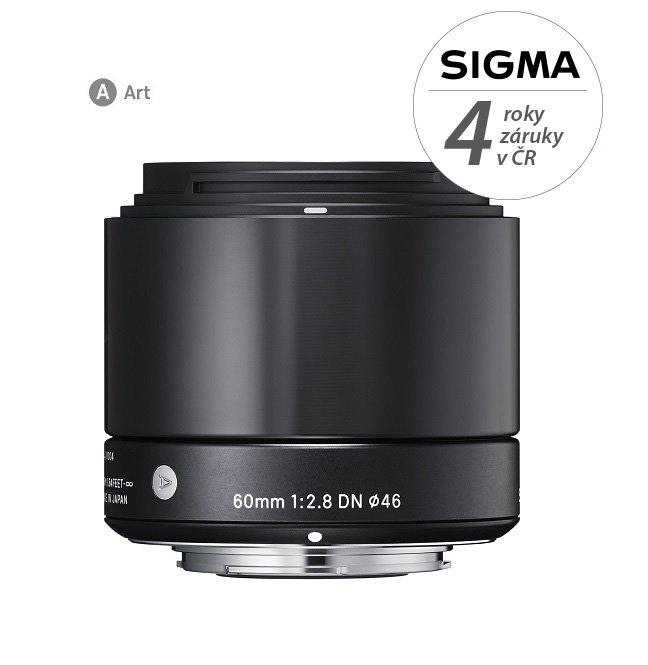 SIGMA 60 mm f/2,8 DN Art černý pro Olympus/Panasonic MFT