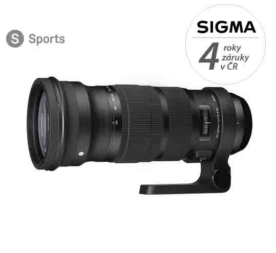 SIGMA 120-300 mm f/2,8 DG OS HSM Sports pro Sigmu