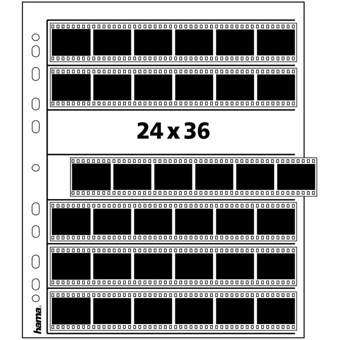 HAMA archiv 24x36/7x6 acetát 2281