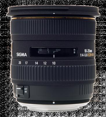 SIGMA 10-20 mm f/4-5.6 EX DC HSM pro Sigmu