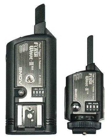 SMDV Flash Wave-III rádiový odpalovač a přijímač blesku (sada 1+1)