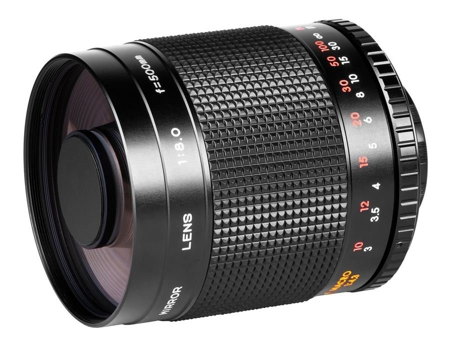 SAMYANG 500 mm f/8 Mirror IF MC pro Sony A