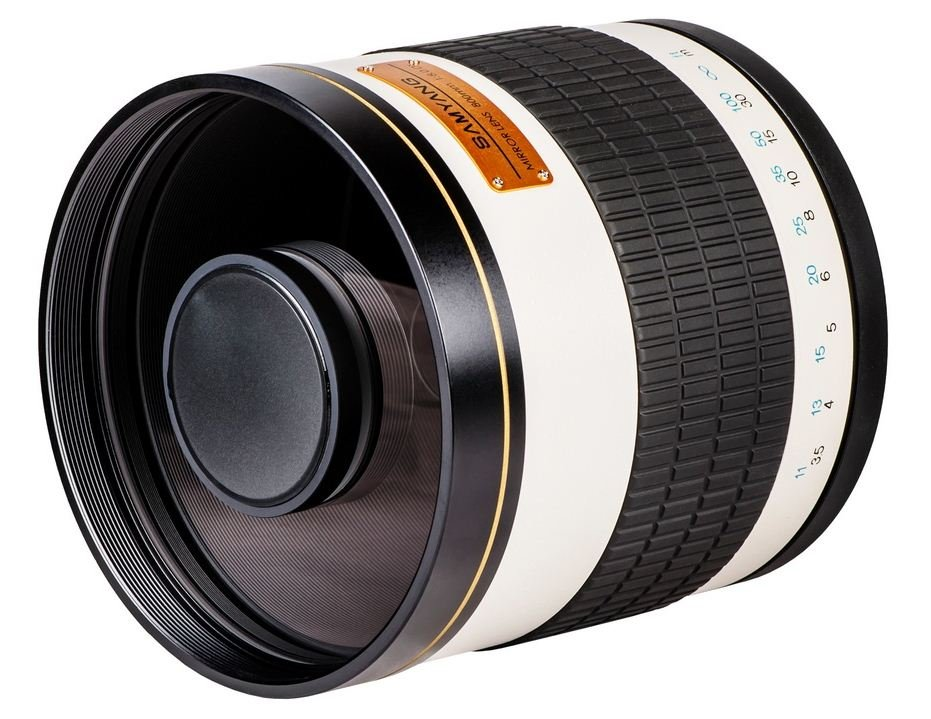 SAMYANG 800 mm f/8 Mirror IF MC pro Canon EOS